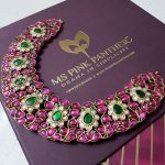 Stunning Stone Studded Choker By Ms Pink Panther