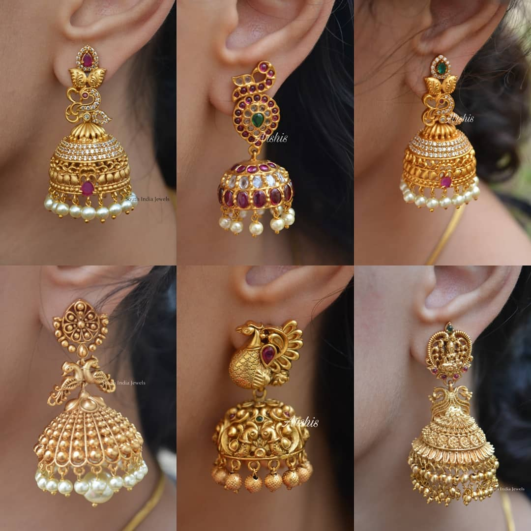 south-indian-traditional-jhumkas
