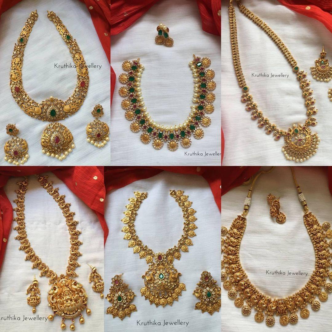 antique-imitation-necklace-sets