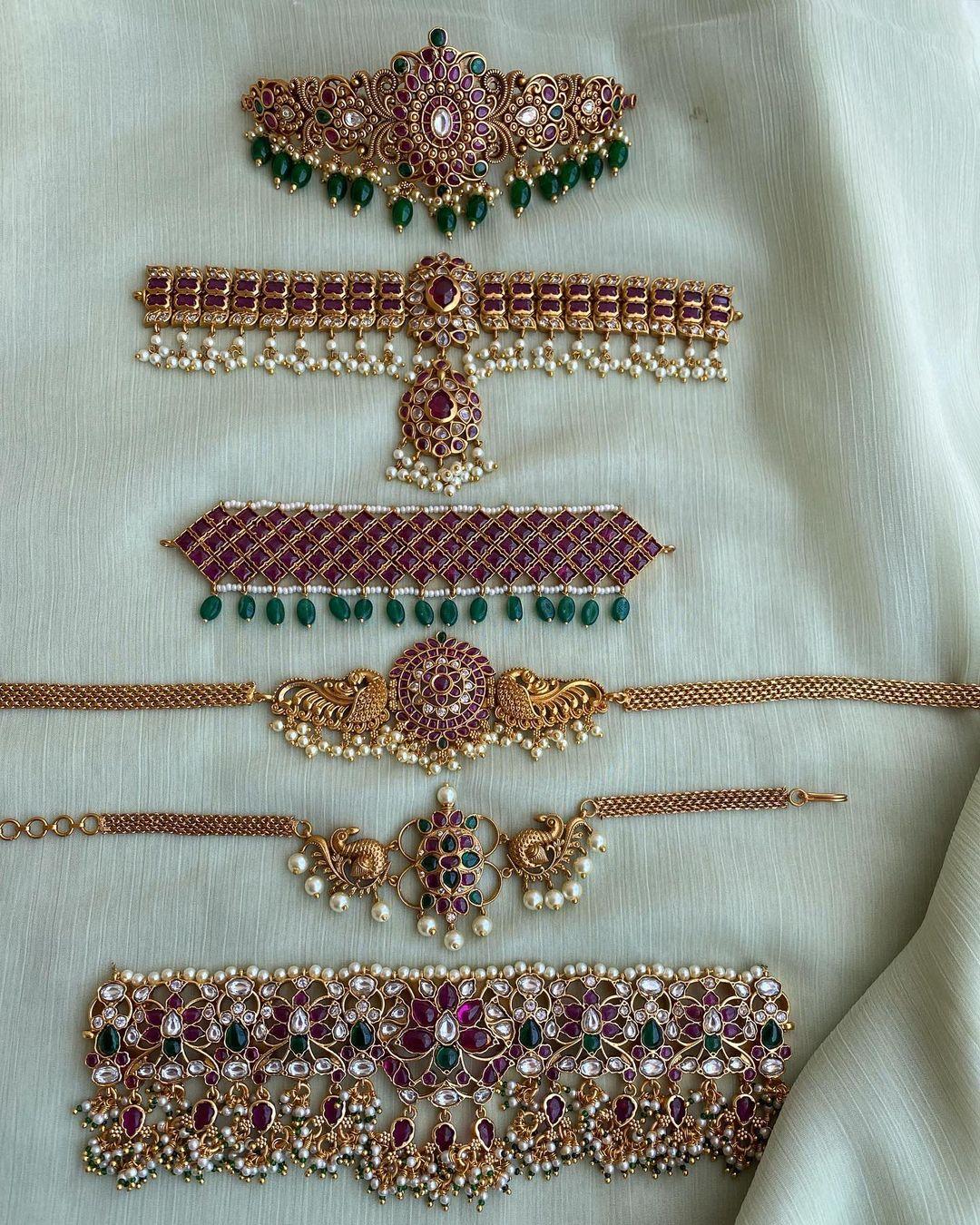 antique-style-choker-necklace-designs