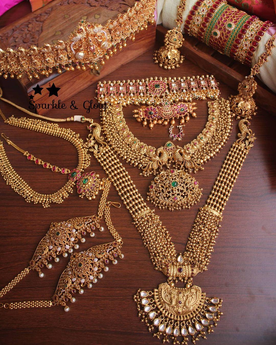 bridal-set-temple-jewellery