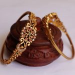 Delicate And Stylish Kada Bangles By The South India Jewels!