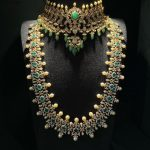Emerald And Diamond Necklace Design