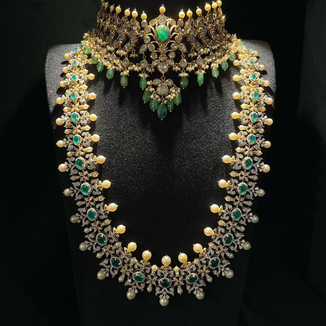 emerald-diamond-necklace-design