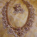 Guttapusalu Necklace Set by the Sashti Silver Jewellery