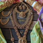 Antique Lakshmi Kemp Bridal Set Combo By Vriksham Jewellery!