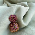 Pure Kemp Jhumkas Earrings