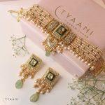 Royal Pearl Choker Set By Tyaani Fine Jewellery!!