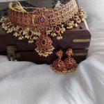 Royal Ruby Choker Set by Posh Jewellery!