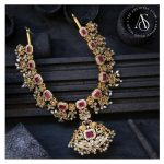 Silver Gold Plated Nagas Necklace
