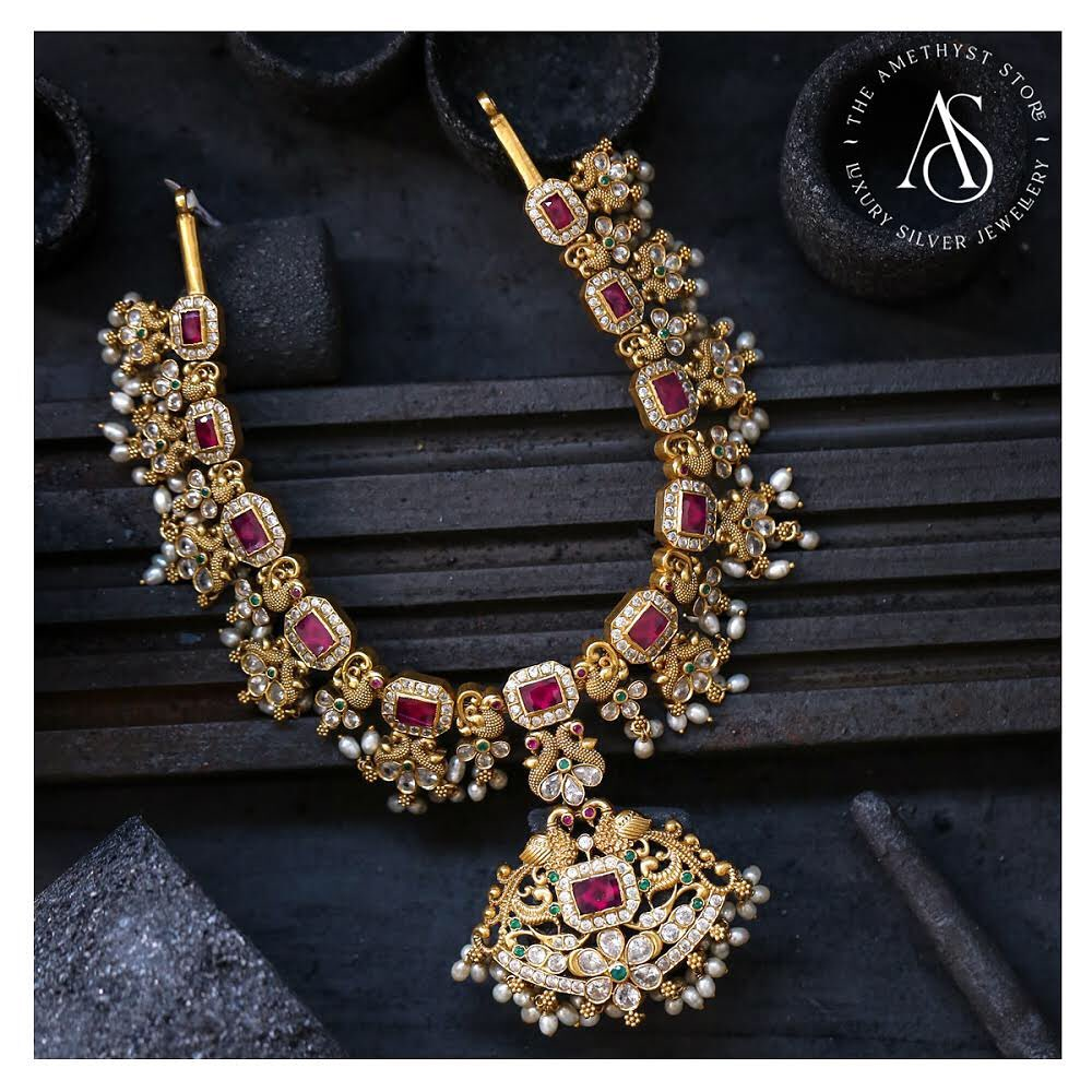 silver-gold-plated-nagas-necklace