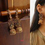 Statement Jhumka Earrings