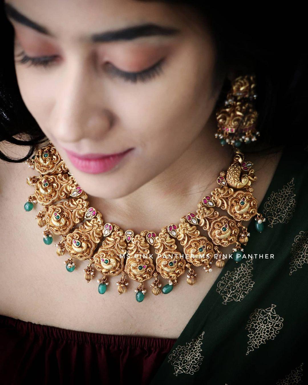 temple-imitation-necklace-set