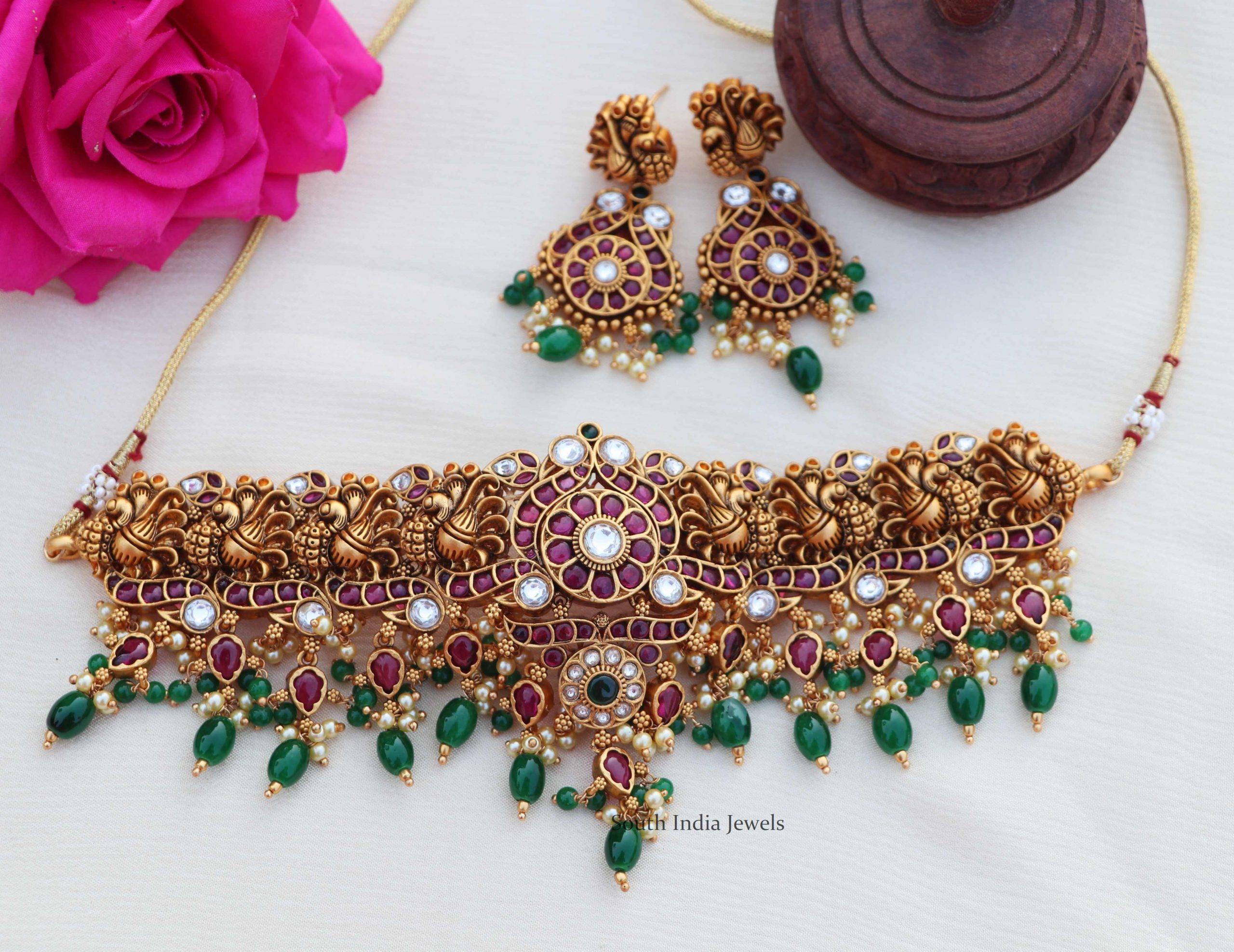 Bridal-Antique-Peacock-Design