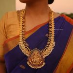 Gorgeous Lakshmi Coin Bridal Haram By South India Jewels!