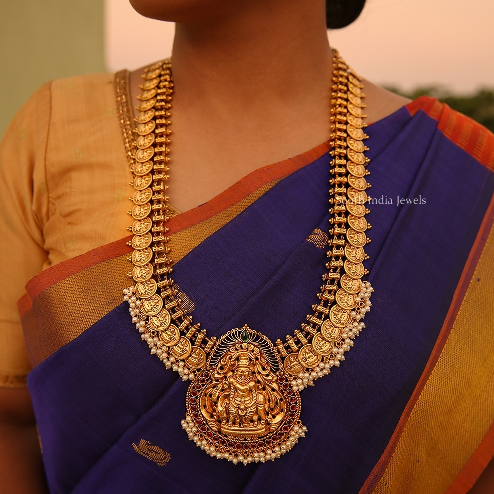 Gorgeous-Lakshmi-Coin-Bridal-Haram