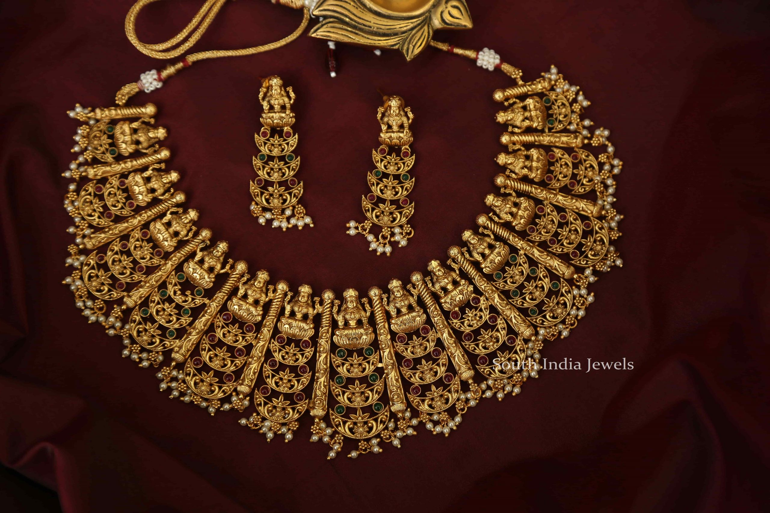 Grand-Bridal-Lakshmi-Multi-Layer-Necklace