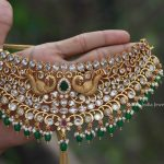 Grand Peacock Choker Design By South India Jewels!