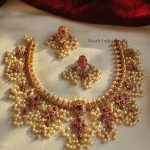 Pretty Guttapusalu Necklace By South India Jewels!!
