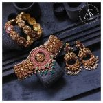 Antique Temple Design Jewellery Set By The Amethyst Store!!