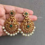 Kundan Studded Peacock Chaandbaalis By Kruthika Jewellery!