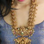 Temple Design Statement Necklace By Ms Pink Panther!!