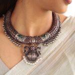 Stunning Kemp German Silver Neckpiece by Prade Jewels!