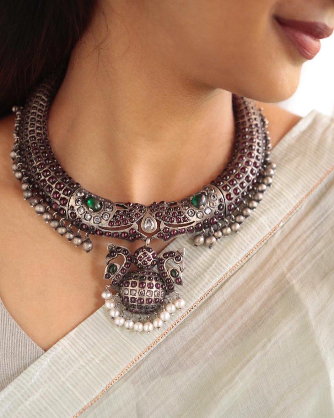 kemp-german-silver-neckpiece