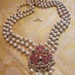 Statement Kemp Pendant Pearl Necklace By Sashti Silver Jewellery!