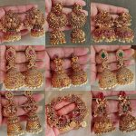 Antique Traditional Earring Collection By The South India Jewels!
