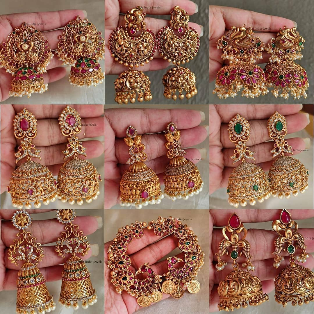 antique-traditional-earring-collection