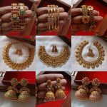 Antique Temple Design Jewellery Sets By The South India Jewels!