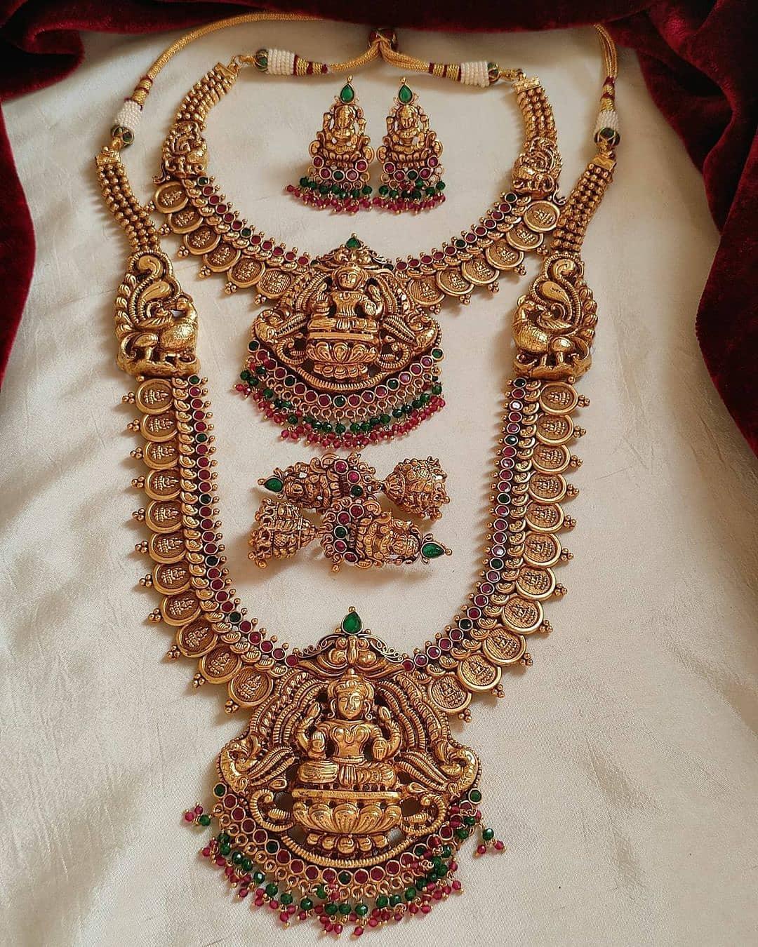bridal-temple-design-necklace-set
