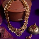 Guttapusalu Necklace Set By The South India Jewels!!