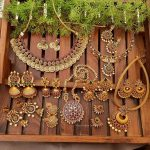 Gold Finish Temple Jewellery Collection By The South India Jewels!