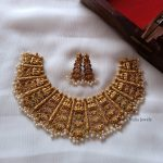 Traditional Lakshmi Design Choker By South India Jewels!!