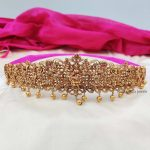 Traditional Lakshmi Bridal Hip Belt By South India Jewels!