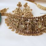 Traditional Radhe Krishna Gold Finish Choker By South India Jewels!!