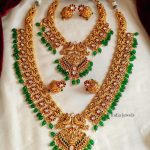 Beautiful Green Beads Bridal Combo By South India Jewels!!