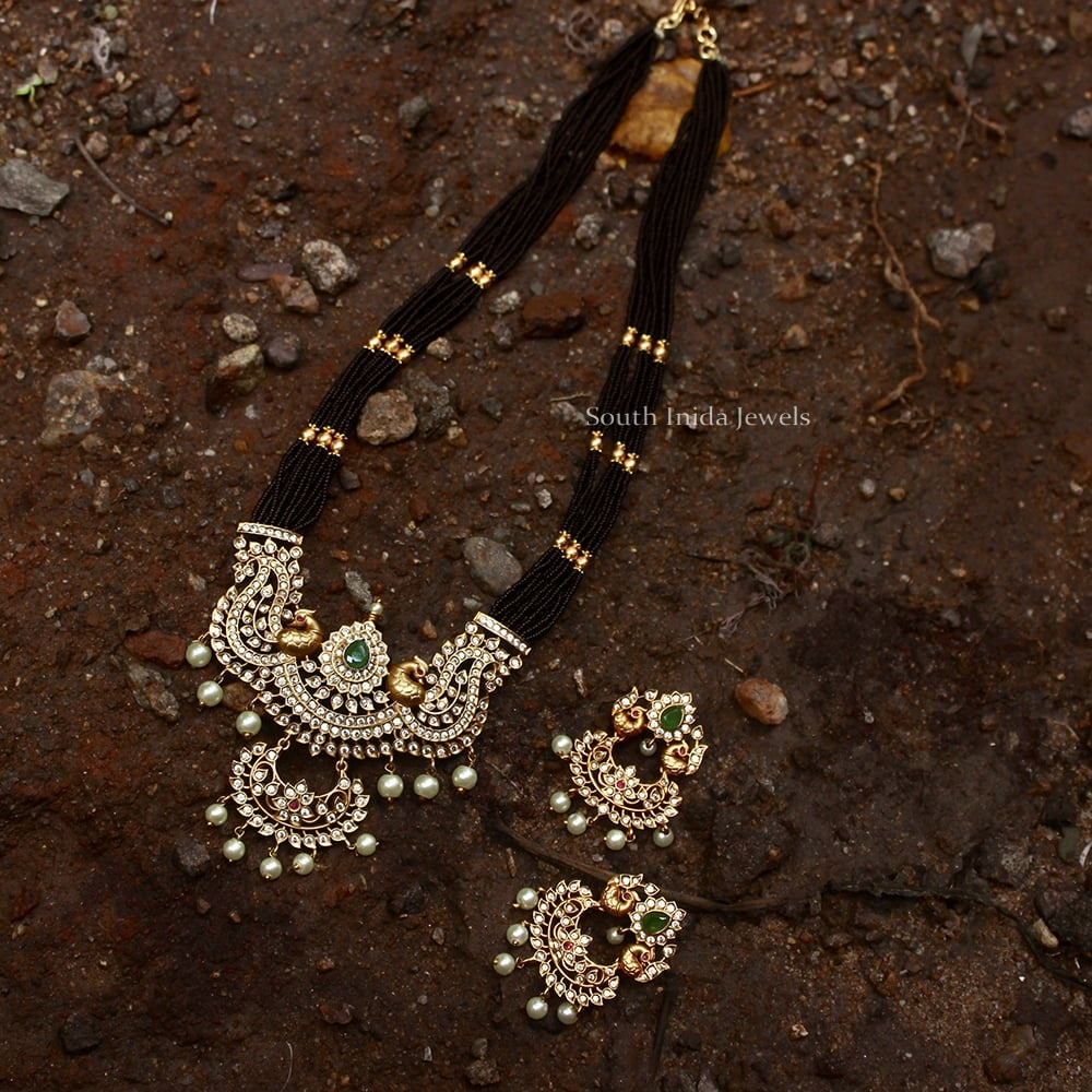 Beautiful-Dual-Peacock-Black-Beads-Haram