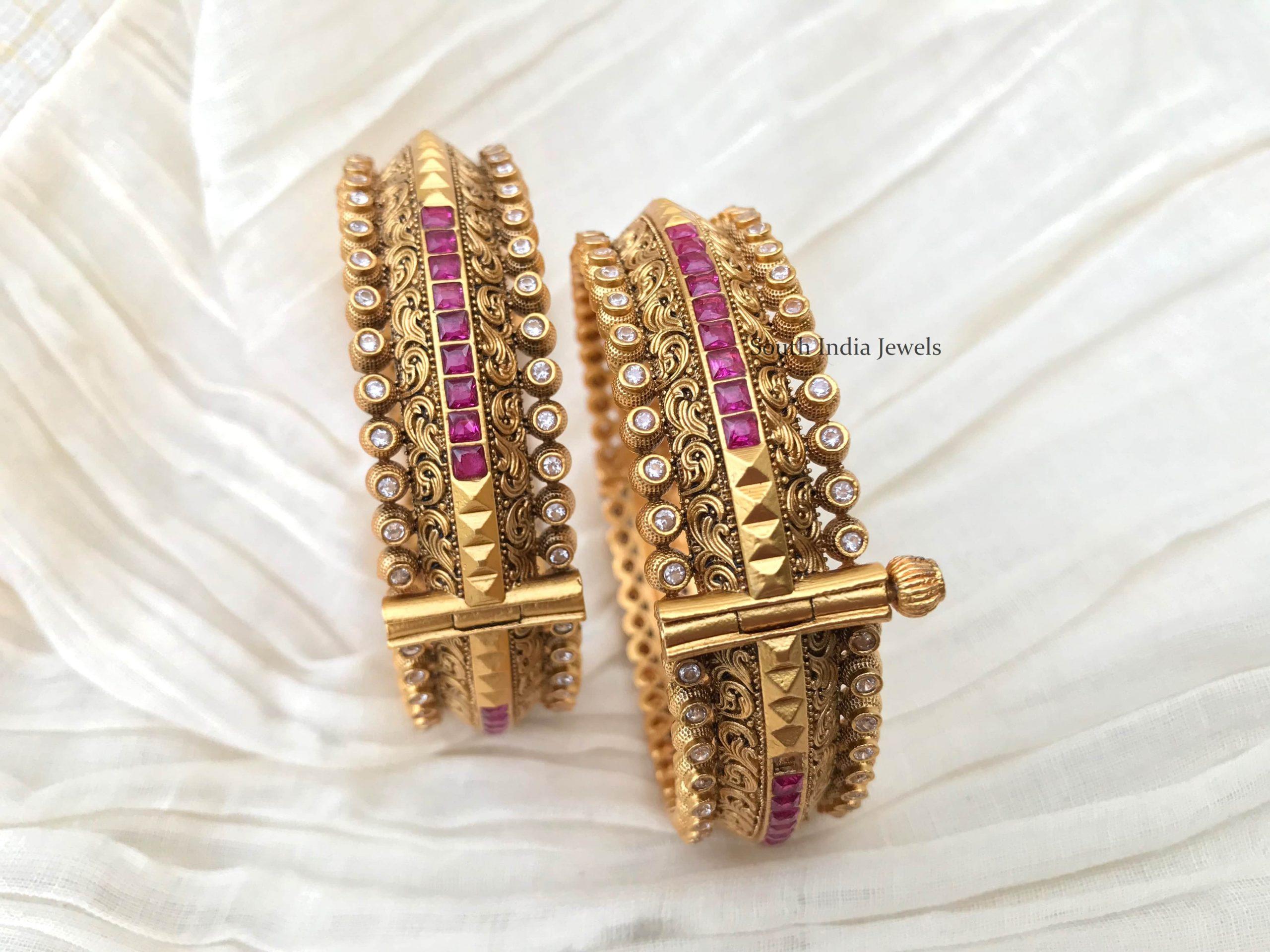 Beautiful-Kundan-Ruby-Bangles