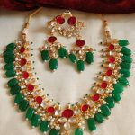Gorgeous Jadau Kundan Necklace By South India Jewels!