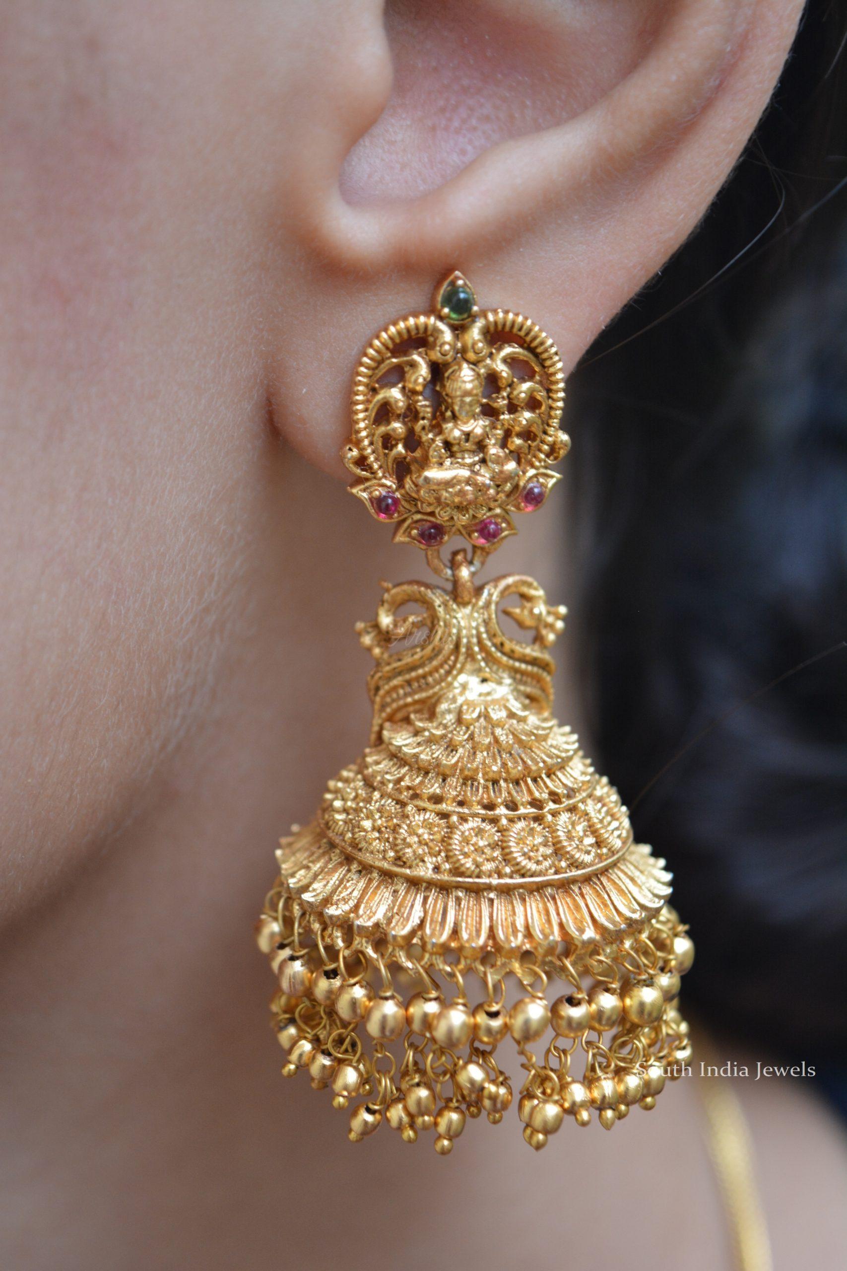 elegant-imitation-lakshmi-design-jhumka