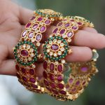 One Gram Gold Kada Bangle By South India Jewels!