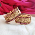 Traditional Lakshmi Coin Bangles By South India Jewels!