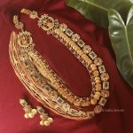 Traditional Lakshmi Coin Design Haram By South India Jewels!