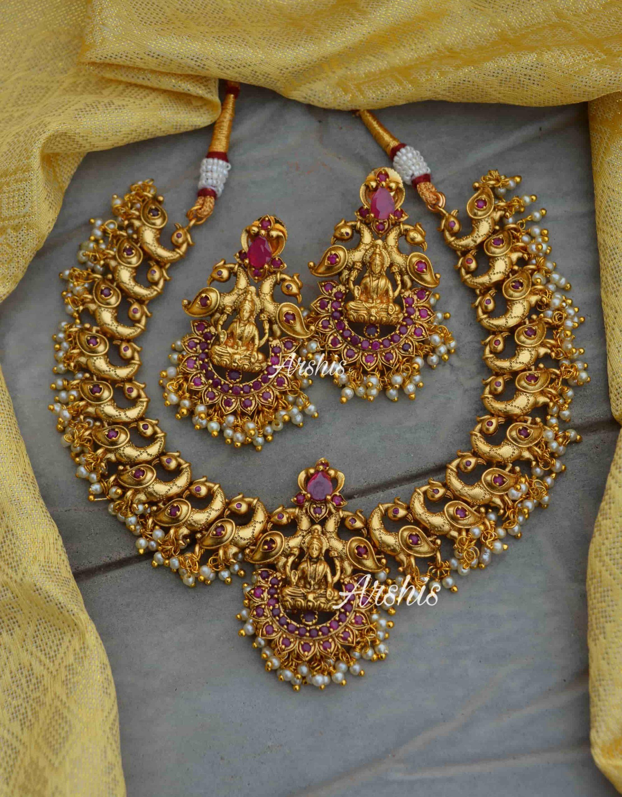 kemp-stone-peacock-design-lakshmi-pendant-necklace