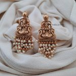 Traditional Lakshmi Earrings By South India Jewels!