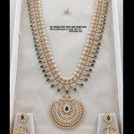 Long Diamond Necklace By Sri Mahalaxmi Gems and Jewellers!
