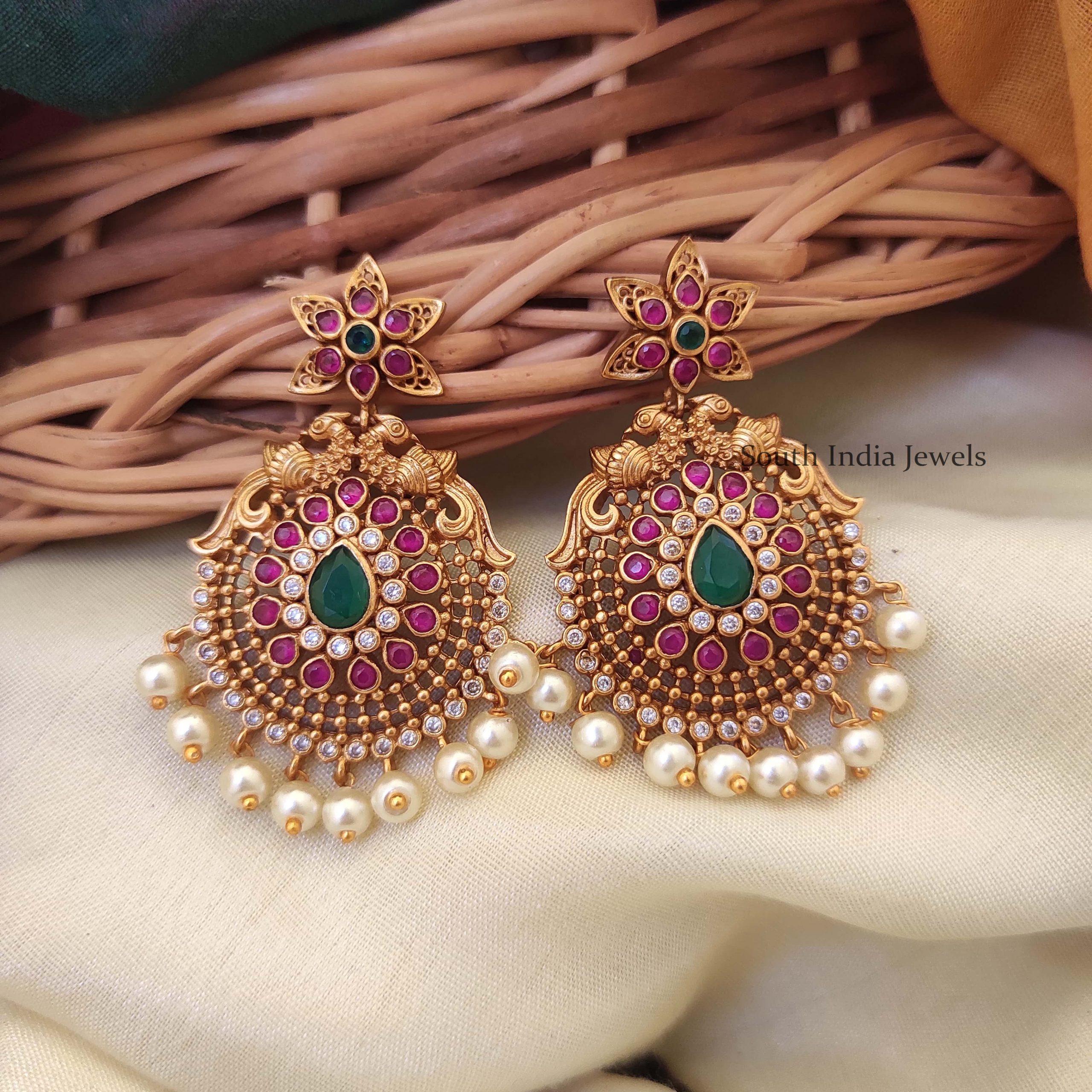 beautiful-peacock-design-earrings